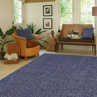 Mohawk Home Langtree 5-Foot x 7-Foot Shag Area Rug in Blue