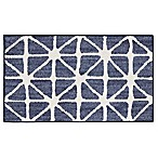 Mohawk Home® Signature Bamboo View 30-Inch x 46-Inch Accent Rug in Indigo/Cream
