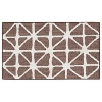 Mohawk Signature Bamboo View 20-Inch x 34-Inch Accent Rug in Brown/Cream