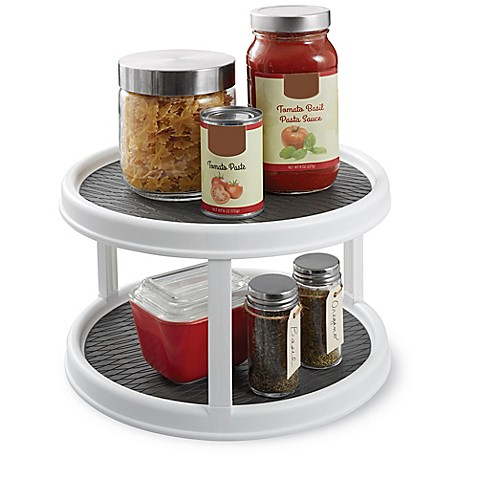 image of Copco Two-Tier Non-Skid Cabinet Lazy Susan
