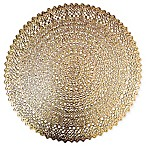 Adele Round Placemat in Gold