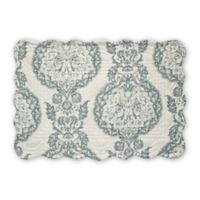 Armand Quilted Placemat in Blue