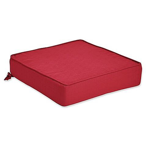 Outdoor forsyth deep seat cushion bed bath beyond for Bed bath beyond gel seat cushion