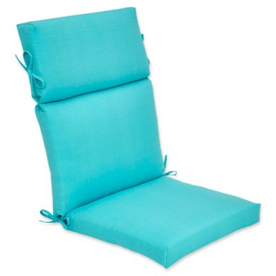 Superbe Outdoor Forsyth High Back Cushion In Ocean