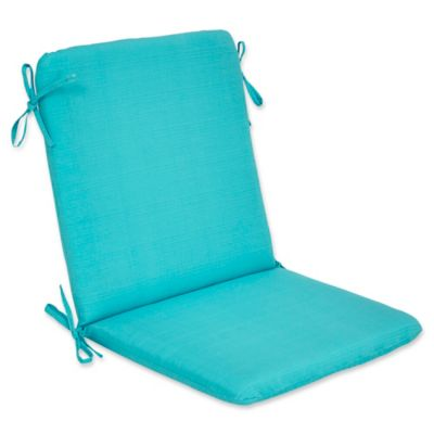 Captivating Outdoor Forsyth Mid Back Cushion In Ocean