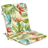 Outdoor Mid Back Cushion in Shady Palms