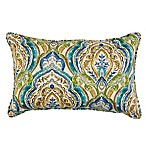 13-Inch x 20-Inch Oblong Indoor/Outdoor Throw Pillow in Avaco Blue