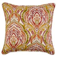 17-Inch Square Indoor/Outdoor Throw Pillow in Avaco Sunset