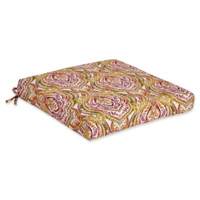 Outdoor Dining Cushion In Avaco Sunset