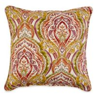 20-Inch Square Indoor/Outdoor Throw Pillow in Avaco Sunset