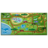 Olive Kids Safari 3-Foot 3-Inch x 6-Foot 8-Inch Play Rug