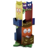 Levels of Discovery Owls Revolving Bookcase