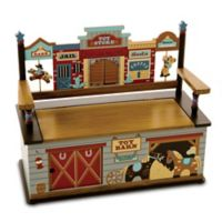 Levels Of Discovery Wild West Bench with Storage