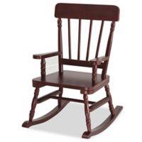 Wildkin Kid's Emerson Rocking Chair in Cherry