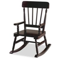 Levels Of Discovery Wooden Rocking Chair in Espresso