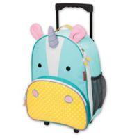 SKIP*HOP® Zoo Little Kid Rolling Luggage in Unicorn