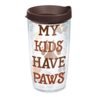 "Tervis® ""My Kids Have Paws"" 16 oz. Wrap Tumbler with Lid"