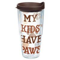 "Tervis® ""My Kids Have Paws"" 24 oz. Wrap Tumbler with Lid"
