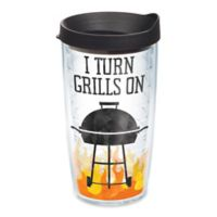 """Tervis® """"I Turn Grills On"""" 16 oz. Wrap Tumbler with Lid"""