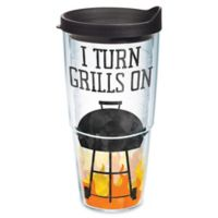 """Tervis® """"I Turn Grills On"""" 24 oz. Wrap Tumbler with Lid"""
