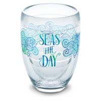 "Tervis® ""Seas the Day"" 9 oz. Stemless Wine Glass"