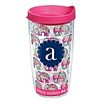 Tervis® Elephant Wrap 16 oz. Monogram Letter  A  Water Bottle with Lid