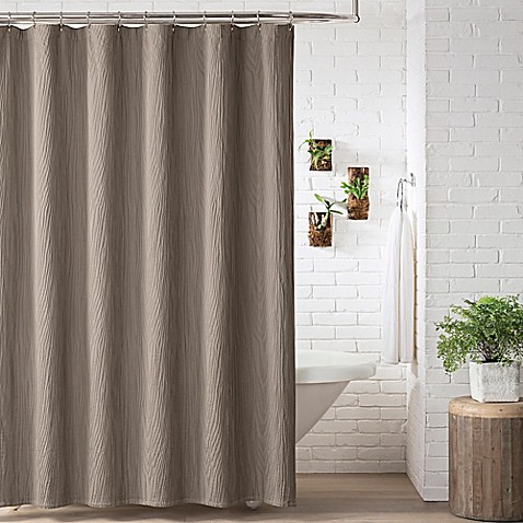 Lamont Home Ash Shower Curtain In Taupe Bed Bath Amp Beyond