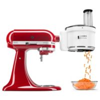 KitchenAid® Food Processor Stand Mixer Attachment in White