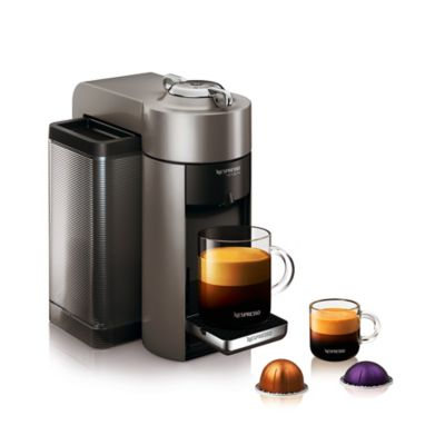 nespresso by delonghi evoluo machine in graphite - Delonghi Espresso Machine