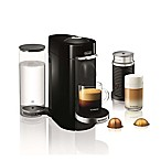 Nespresso by Delonghi VertuoPlus Coffee/Espresso Machine and Aeroccino3 Milk Frother Bundle