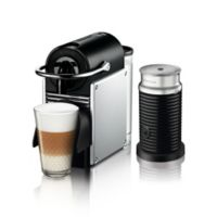 Nespresso® by DeLonghi Pixie Espresso Machine Bundle with Aeroccino 3 Frother