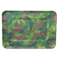 Phocacia Palms Serving Tray in White