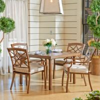 Trisha Yearwood Home Collection Outdoor 5-Piece Dining Set in Espadrille