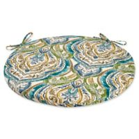 Outdoor Bistro Cushion in Avaco Blue