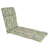 Outdoor Chaise Lounge Cushion in Avaco Blue