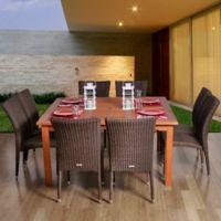 Amazonia Provence 9-Piece Square Patio Dining Set