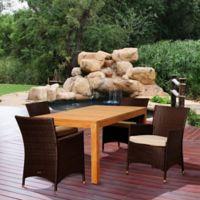 Amazonia Porter 5-Piece Rectangular Patio Set