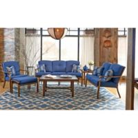 Trisha Yearwood Home Collection 6-Piece Conversation Set in Denim Demo