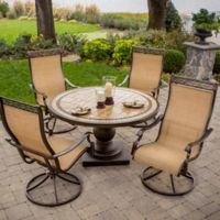 Hanover Monaco 5-Piece Patio Set