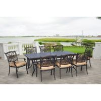 Hanover Traditions 9-Piece Patio Set