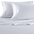 Wamsutta® 625-Thread Count PimaCott® Scroll King Sheet Set in White
