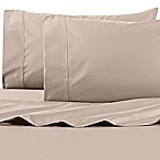 Wamsutta® 625-Thread Count PimaCott® Queen Sheet Set in Taupe
