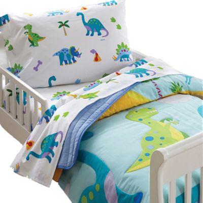 Etonnant Olive Kids Dinosaur Land Toddler Sheet Set