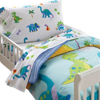 Olive Kids Dinosaur Land Toddler Sheet Set