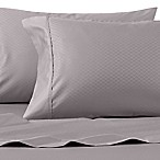 Wamsutta® 625-Thread Count PimaCott® Diamond Queen Sheet Set in Charcoal