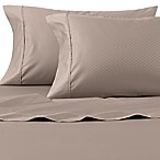 Wamsutta® 625-Thread Count PimaCott® Diamond Queen Sheet Set in Taupe
