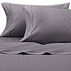 Wamsutta® 625-Thread Count PimaCott® Scroll Queen Sheet Set in Charcoal