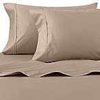 Wamsutta® 625-Thread Count PimaCott® Dot King Sheet Set in Taupe