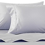 Wamsutta® 625-Thread Count PimaCott® Dot Queen Sheet Set in Light Blue