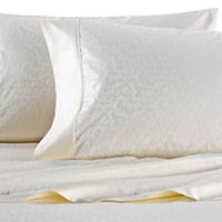 Wamsutta® 625-Thread Count PimaCott® Scroll California King Sheet Set in Ivory